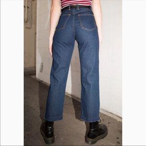 Brandy Melville Hazel dark wash jeans